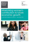 Women-Business-Council-Maximising-Women-contribution-of-future-economic-growth-December2013