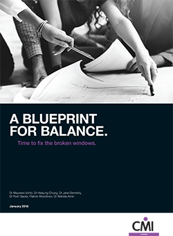 A blueprint for balance. Time to fix the broken windows - January 2018