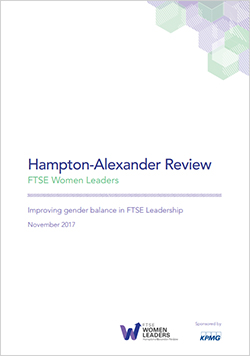 Hampton Alexander review - November 2017